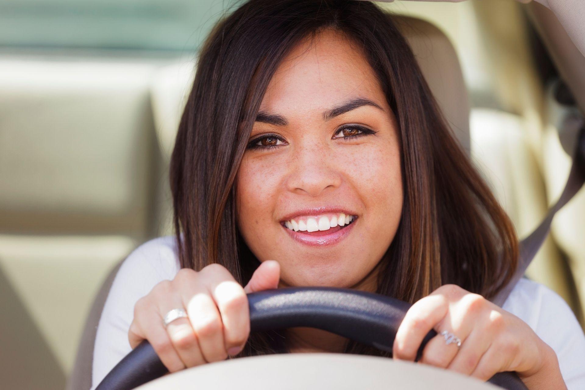 placer al volante-conducir
