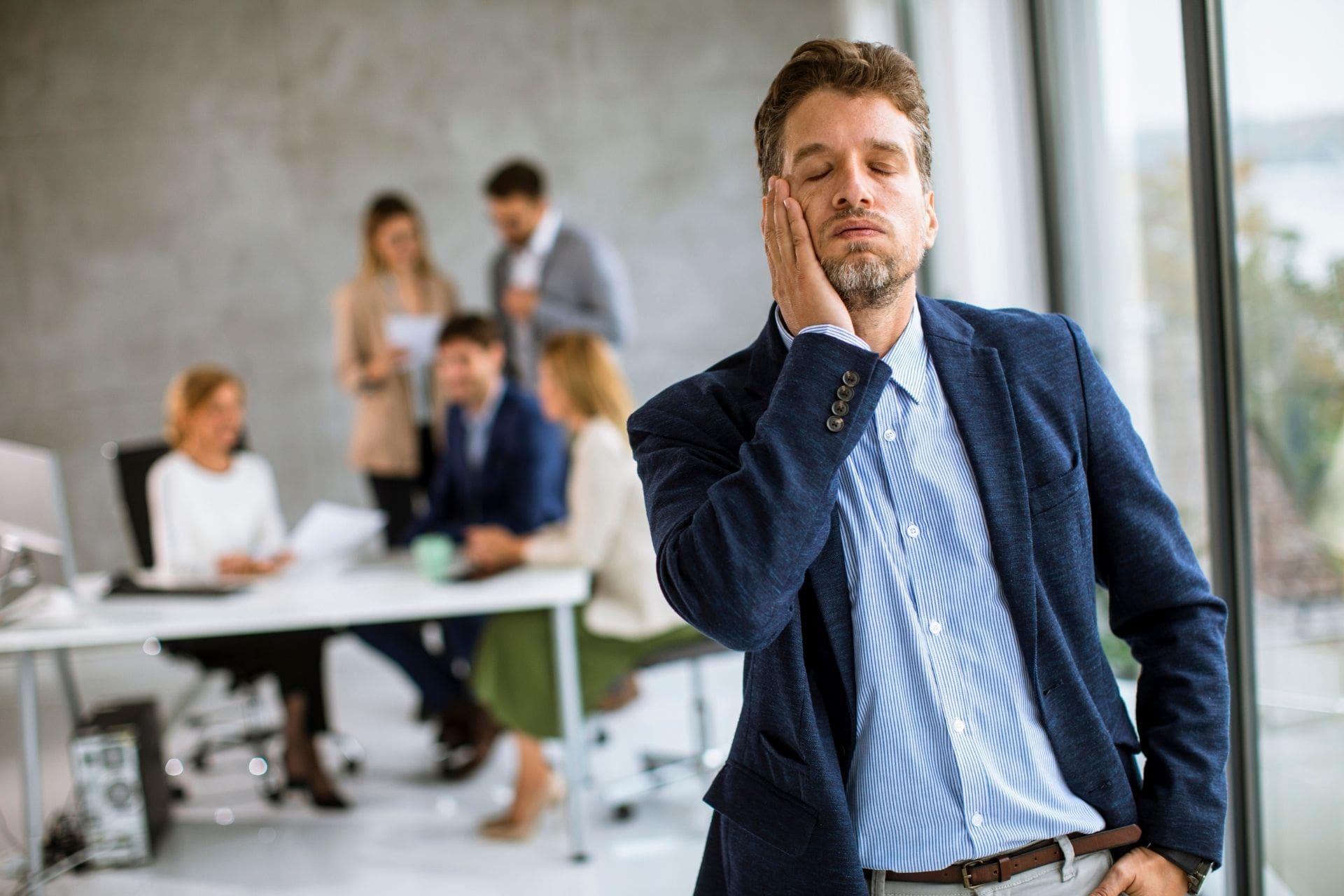 líder-estrés