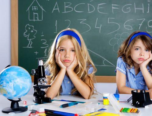 La atención en el colegio, concentración infantil a la vuelta de vacaciones