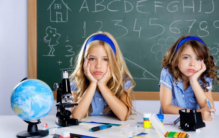 atención niños colegio